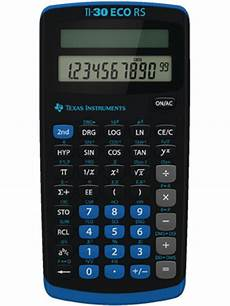 taschenrechner texas instruments ti 30 eco rs ti 30 eco rs kaufen taschenrechner instruments