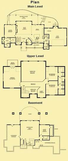 mountain house plans rear view mountain view craftsman home with images one level