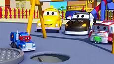 carl der truck und der klein laster in car city