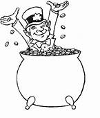 St Patrick's Day Leprechaun Coloring Page & Book