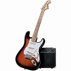 Fender Starcaster Complete Electric Guitar Package Pack3tsbmn