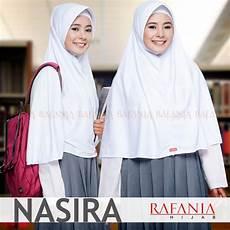 Jual Jilbab Sekolah Nasira Rafania Kerudung Jilbab Syari