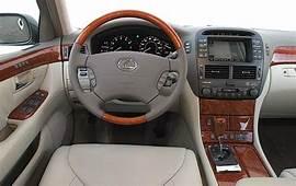 2004 Lexus LS 430 Pictures  68 Photos Edmunds