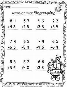 christmas freebie print and go classroom christmas 2nd grade math worksheets second grade
