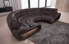 couch rund bigsofa leder couch ecksofa megasofa rundes sofa modern