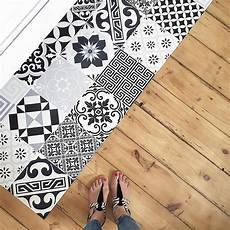 welcome le tapis vinyle imitation carreaux de ciment qui