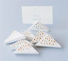 diy wedding air dry clay place card holders julep