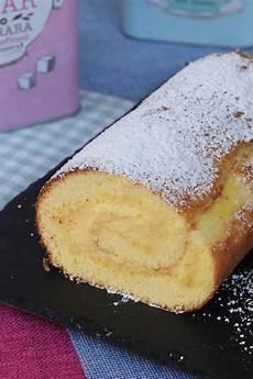 pan di spagna con crema al limone fatto in casa da benedetta rotolo alla crema ricetta pan di spagna arrotolato con crema al limone ricette ricette