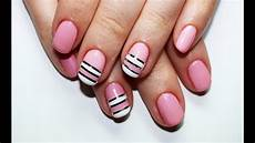 striping tape nail art design nail art con il nastro