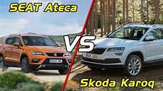 2018 Skoda Karoq Vs Seat Ateca