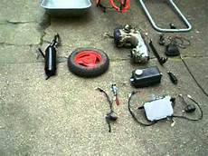 motorschubkarre in teilen schubkarre mit motor zum