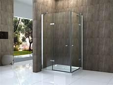 Duschkabine Glas Eckeinstieg - canto 120 x 90 cm glas dusche duschkabine duschwand
