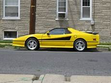 manual repair free 1985 pontiac fiero parking system yellow fiero for sale