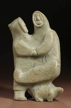 soapstone carving inuit soapstone carving sale number 2596b lot number