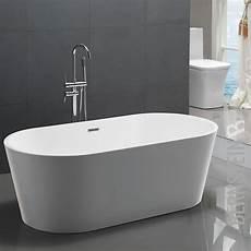 badewanne freistehend an wand bernstein design badewanne freistehende wanne mio acryl