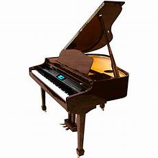suzuki electronic pianos suzuki mdg 400 baby grand digital piano walnut music123