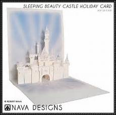 papercraftsquare sleeping castle pop up card