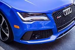 Audi RS7 Triplets Nagoro Blue Estoril And Sepang