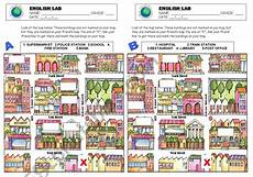 giving directions worksheets easy 11675 worksheets giving directions map