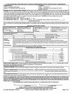 promissory note and security agreement form fill out and sign printable pdf template signnow