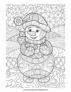 printable winter coloring pages for adults wallpapers hd