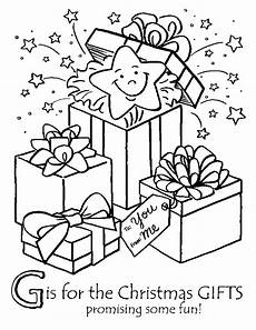 coloring pages presents