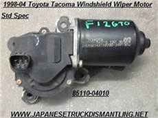 motor repair manual 2002 toyota sequoia windshield wipe control 1998 04 toyota tacoma windshield wiper motor 8511004010