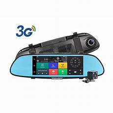 7 quot hd1080p android5 0 car dvr rearview mirror dash