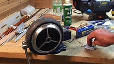 driving hoverboard wheel motor with rc model esc