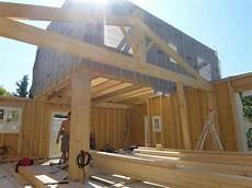 plan maison ossature bois plan autoconstruction maison ossature bois boismaison