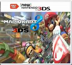 mario kart 8 3ds edition nintendo 3ds box cover by