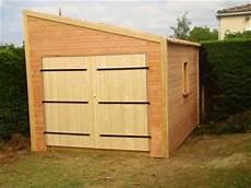 garage bois en kit livraison d un garage en bois homekit