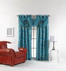 Teal Drapes Curtains by Teal Curtains Ebay