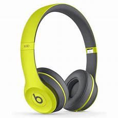 casque beats wireless 2 beats 2 wireless active collection jaune casque