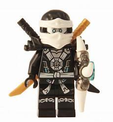 lego 174 ninjago zane deepstone minifigure 2015 with