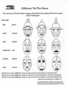Afrikanische Muster Malvorlagen Pdf Afrikanische Masken Zum Ausmalen