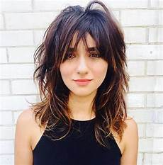 medium length shag hairstyles with bangs 70 best variations of a medium shag haircut for your distinctive style