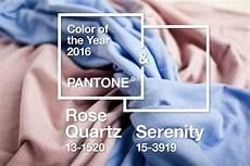Pantone Trendfarben 2016 Quartz Und Serenity