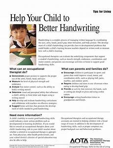 occupational therapy handwriting worksheets for adults 21876 this handwriting worksheet shows what occupational therapists and parents families can do to hel