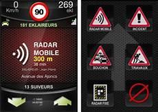L Avertisseur De Radar Communautaire Eklaireur Iphone