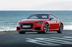 audi tt rs coupé 2017 audi tt rs roadster and coupe bow in beijing with 400