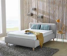 bett skandinavisches design boxspringbett faviola 140x200 cm grau skandinavischer stil