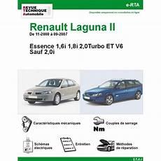 Revue Technique Renault Laguna Ii Essence Rta Site
