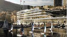 New Yacht Club Sailing School And Show Room In Monte