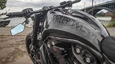 Harley Davidson Rod Quot Carbon Quot By Bad Boy Customs