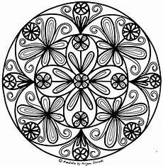 Malvorlage Blumen Mandala Pin Auf Mandalas Zum Ausdrucken F 252 R Kinder Erwachsene