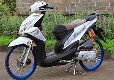 Modifikasi Honda Beat Fi Velg 17 by Foto Modifikasi Honda Beat Fi Velg 17 Myotomotif