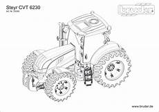 Malvorlagen Traktor Ausmalbilder Traktor Steyr Steyr