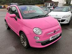 used pink fiat 500c for sale kent