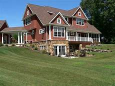home plans with basement the walk out basement hill set up country cottage basements country chic